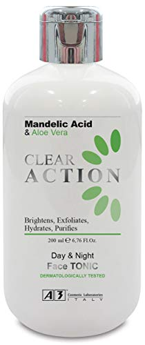 A3 Clear Action Tonic with Mandelic Acid & Aloe Vera - 200 ml
