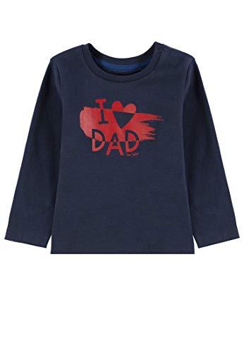 TOM TAILOR T- Shirts 1/1, Bébé garçon, Bleu (Black Iris|Blue 3800), 3 Mois