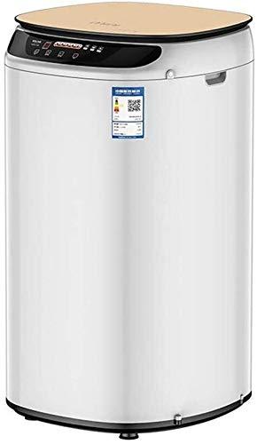 LAZNG Máquina de achique portátiles de lavado de la máquina compacta Lazy Lavadora automática de desinfección de un solo botón de arranque automático (Color : Gold)