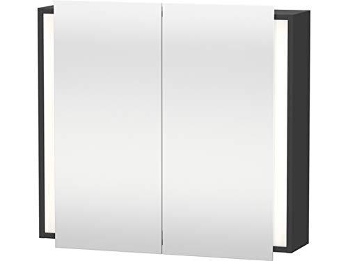 Duravit Spiegelschrank Ketho 180x80x750mm 2 Spiegeltüren, graphit matt, KT753104949