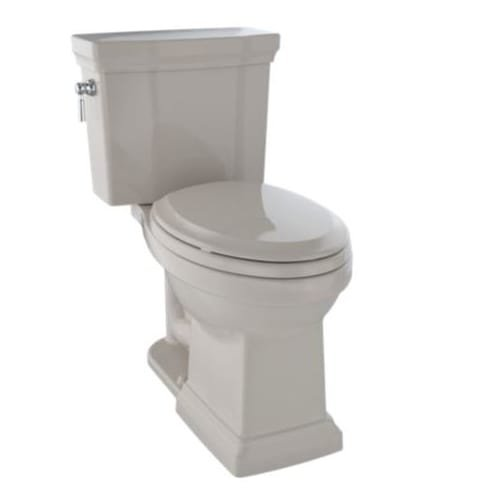 Toto CST404CEFG#03 Promenade Ii 2 Piece Elongated 1. 28 Gpf Universal Height Toilet With Cefiontect, Bone