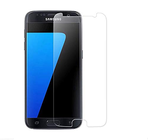 MUNDDY Protector de Pantalla para Samsung Galaxy S7 Cristal Vidrio Templado Premium,Espesor...