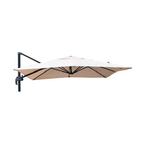 Amicasa. Telo di Copertura per ombrellone da Esterno 2.5x2.5 mt per Modelli Rodi/Osaka