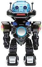 Juguetrónica- Robot Interactivo con Control por Voz, Colores Surtidos (Negro o Plata) (JUG0178)