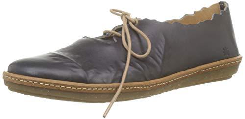 El Naturalista Coral, Zapatos de Cordones Brogue para Mujer, Negro (Black Black), 36 EU