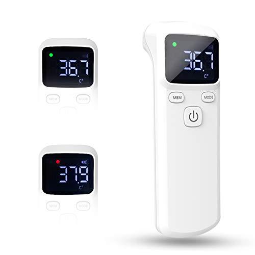 Temperatura Digitale a Infrarossi, Misurazione della Temperatura Portatile, Unità di Visualizzazione Digitale LCD, Impostazione di Disattivazione Dell'Allarme, per Bambini Piccoli Adulti
