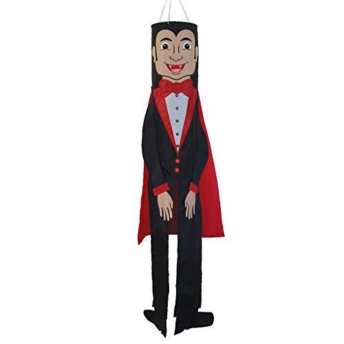 In the Breeze Birutas de vento Buddy de 5148 polegadas - Decoração de Halloween ao ar livre, Drácula de 101,6 cm