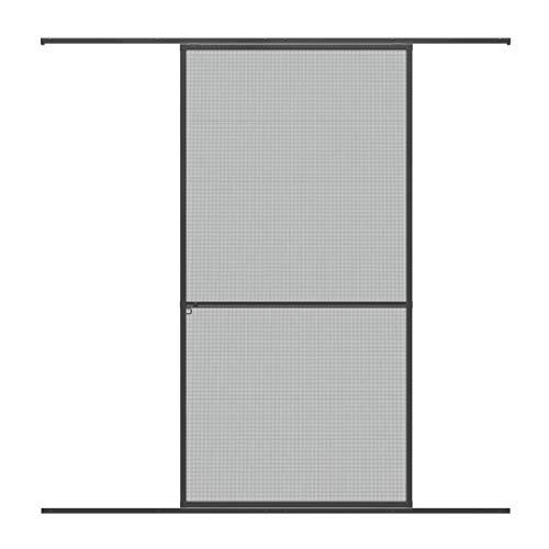 pro insect Alu Insektenschutz-Schiebetür PRO 120x240cm, anthrazit