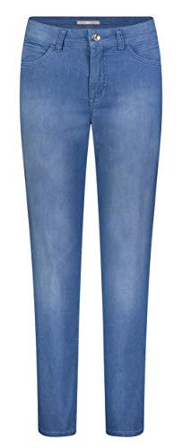 MAC JEANS Damen Melanie Straight Jeans , Blau (Clean Light Blue Wash D248) , W34/L32