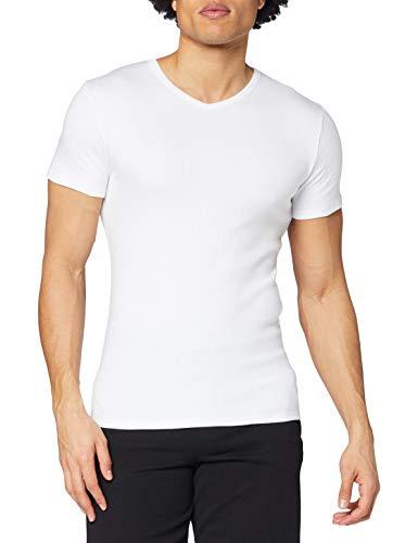 Abanderado Termal Camiseta térmica, Blanco, 52/L para Hombr