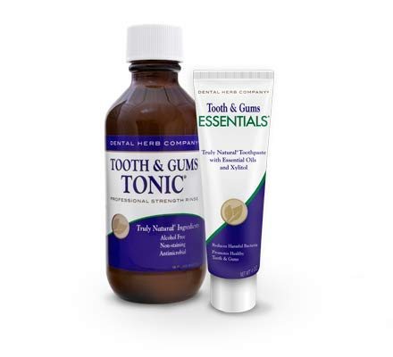 Dental Herb Company - Tooth & Gums Tonic (18 oz.) Mouthwash and Essentials Paste (Kit)