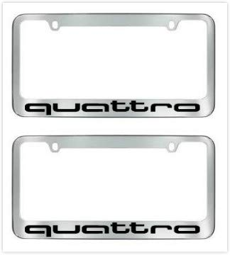 quattro license plate frame - 7