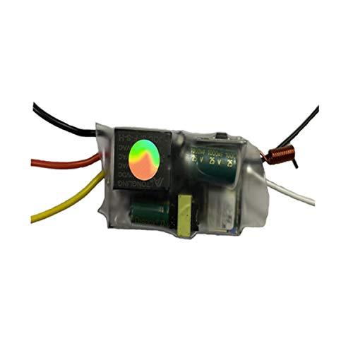 Ctzrzyt 1 Pieza MóDulo WiFi de un Solo Cable Soporte de 2 VíAs RF433Mhz No Requiere Cable Neutro Trabajo para Alexa y Home