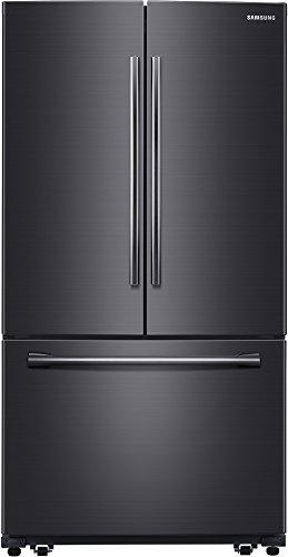 Samsung Appliance RF260BEAESG 36' Black Stainless Steel Series French Door Refrigerator in Black Stainless Steel