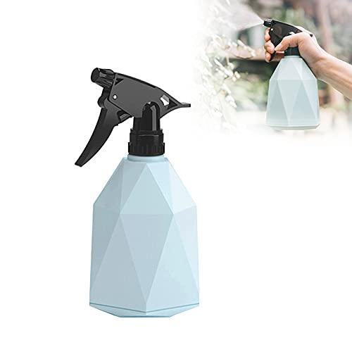 Azul Botellas de Spray Vacías de 600 ML, Regadera Plastico, Botella de Pulverización, Bote Spray...