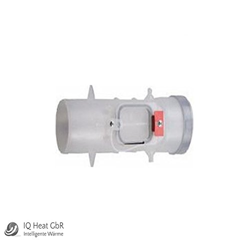 Buderus Abgassystem DO Kunststoff PP DN80 Abgasrohr Bogen Revisions T-Stück (Revisions T-Stück DN80)