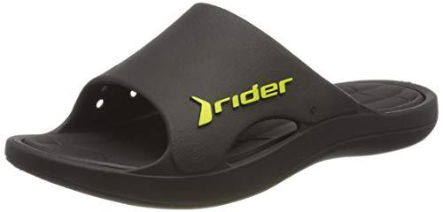 Rider Herren Bay Ix Ad Pantoletten, Mehrfarbig (Black/Black 8023.0), 44 EU