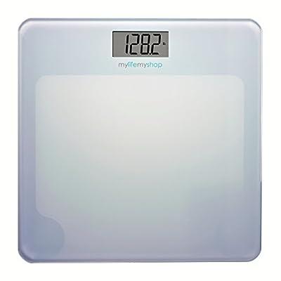 My Life My Shop MM40128-0100 Digital Body Scale, Balance 1, White