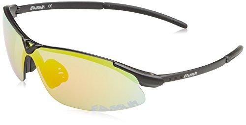 Eassun - Gafas de ciclismo unisex, color Gris( Gris Foncé/Rouge ), talla...
