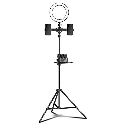 Driehoekige klem ring vult licht outdoor live houder vloerbedekking zelfontspanner mooi schieten live licht