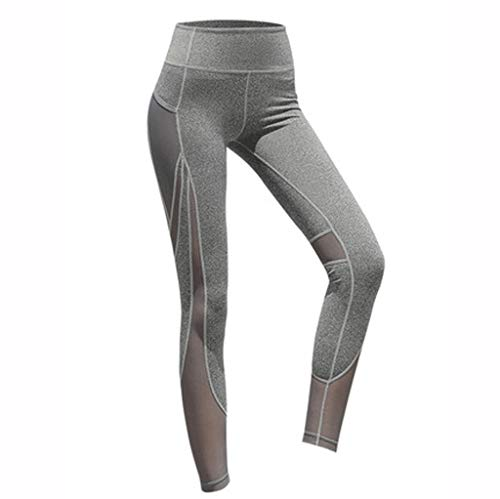Yoga broek SAP- Sport sneldrogende fitness broek mannen en vrouwen lopen compressie broek stretch broek basketbal leggings training hoge taille heupen abdominale fitness broek zacht
