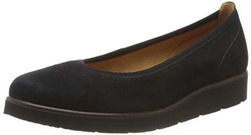 Gabor Shoes Gabor Casual, Ballerines Femme, Bleu (Pazifik 16), 42 EU