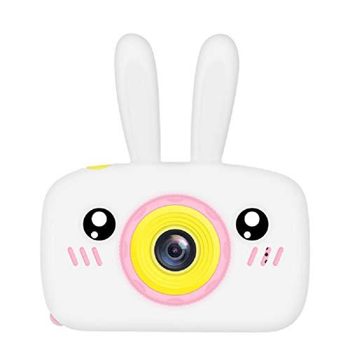 Bciou conejo oído niños niños cámara juguetes para niños cumpleaños regalos educación video