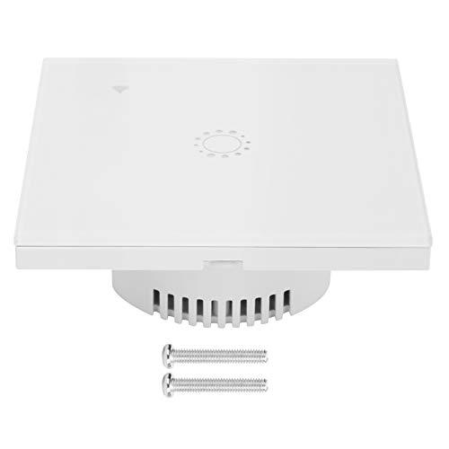 Huairdum Interruptor inalámbrico, Controlador de Interruptor Interruptor WiFi Inteligente Interruptor táctil de Pared Interruptor WiFi de Control Remoto Interruptor de luz de Vida Inteligente para