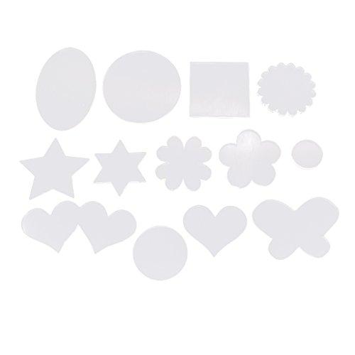 Baoblaze 13pcs Base Acrylique fournitures d'argile de polymère