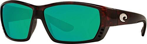 Costa Tuna Alley Readers Nylon Frame Green Mirror Lens Men's Sunglasses TA10OGMP250