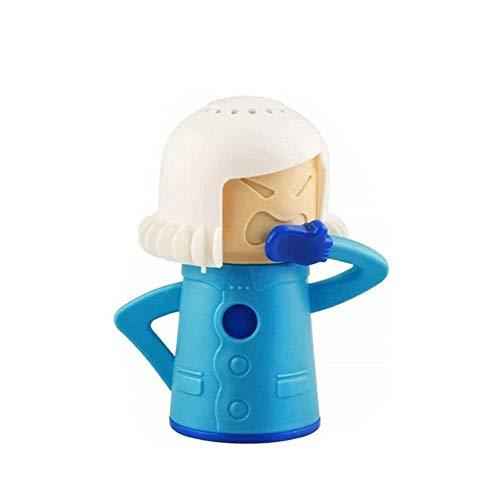 Chilly Cold Mama Fridge Cleaner Baking Soda Freezer Odor Absorber & Freshener Holder, Cool Mama Refrigerator Deodorizer Freezer Odor Household Kitchen Tools, Blue