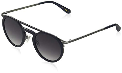 Ted Baker Sunglasses heren Morten zonnebril, Navy, 48/23-145
