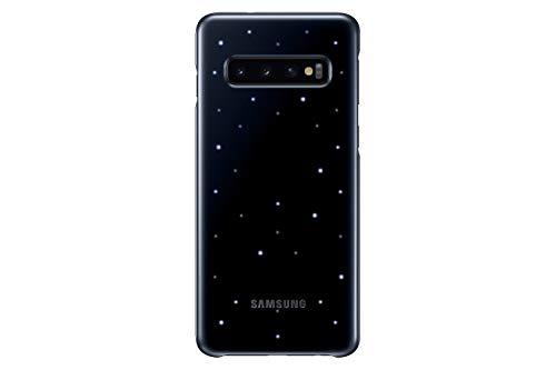 Samsung Galaxy S10 LED Back Case, Black (EF-KG973CBEGUS)