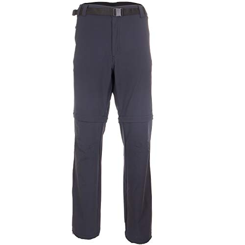CMP Outdoor-Zipp-Off-Hose Herren   atmungsaktiv und Winddicht   mit UV-Schutz und Gürtel   Ideal zum Wandern geeignet