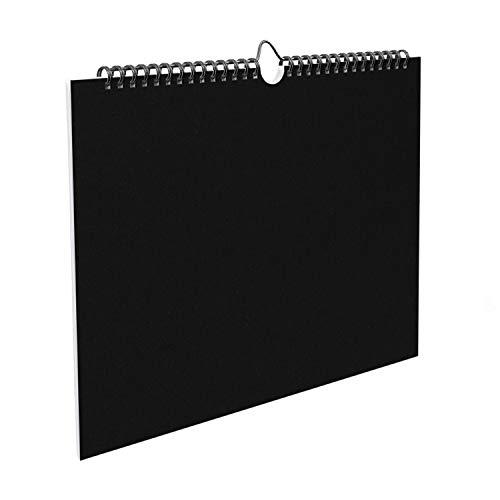 Planificador semanal 2021 de escritorio de pared A3 – semanal para productividad – Calendario planificador motivacional organizador de notas y tareas de mesa con hojas de 120 gramos de velcro…