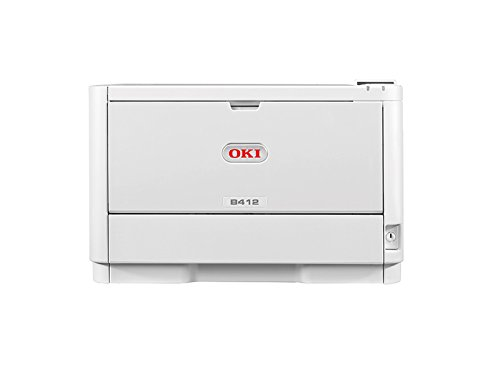 Impresora OKI B412dn con tecnología Laser LED, A4, monocromo, dúplex, 33 páginas por minuto