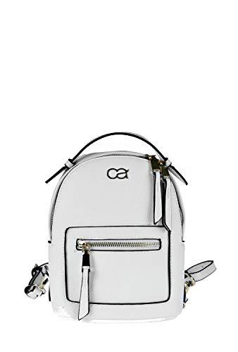 collezione alessandro Kleiner Rucksack Jella mit Fronttasche und verstellbarem Riemen 17cm x 22cm x 9cm