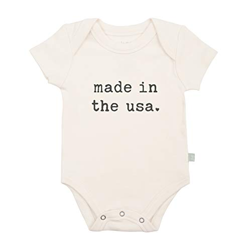 Finn + Emma Graphic Bodysuit - Made in The USA, 3-6m