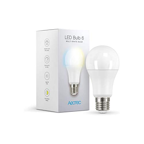 Aeotec LED Bulb 6 Multi-Blanc - Z-Wave Plus