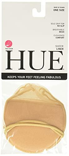 Hue Women's U58603pk fashion liner socks, Pale Beige,...
