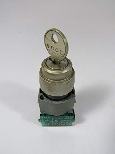 EAO 704.120.0 wholesale Department store Key Selector Switch w 1NO 2-Position 1NC