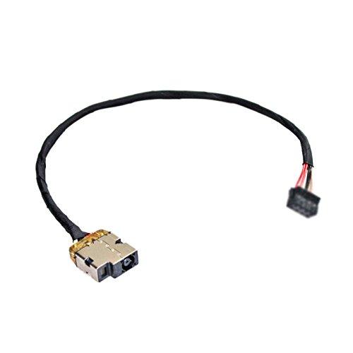Gintai DC Power Jack Cable de carga de repuesto para HP 250 255 G2 G3 15-R150sa