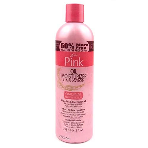 Luster's Pink Oil Moisturizer Hair Lotion Original 12oz 355ml feuchtigkeitsspendende Haarlotion
