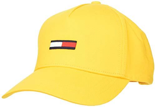 Tommy Hilfiger Tjw Flag Cap Gorra, Amarillo (Yellow Zcm), Talla única para Mujer