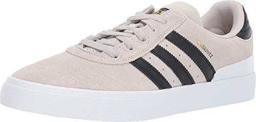 adidas Busenitz Vulc (Crystal White/Black/White) Men's Skate Shoes-12