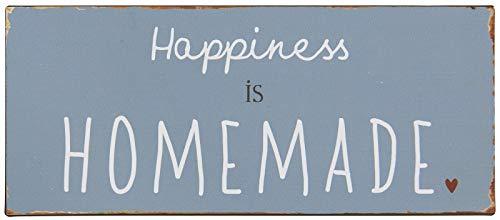 IB Laursen - Metallschild mit Spruch - Happiness is Homemade