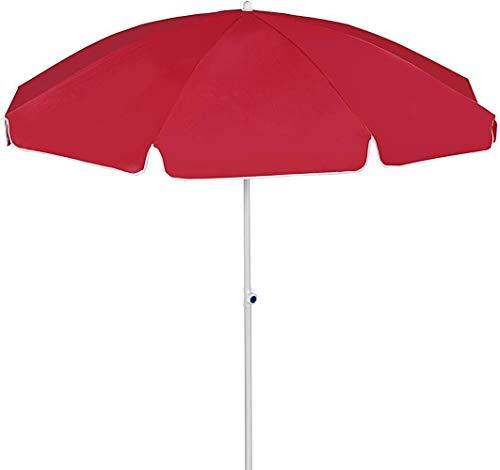 Sonnenschutz Sonnenschirm 2.4m Sonnenschutz Regenschirm Verwendet im Shop Garten Angelshop Große Außen Stall Runde Thick Rooftop Regenschirm Schutz