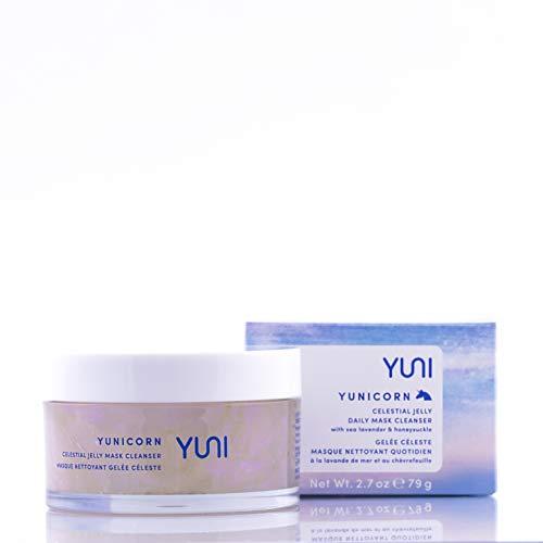 YUNI Beauty Yunicorn Celestial Jelly Detoxifying Mask Cleanser, 2.7 oz