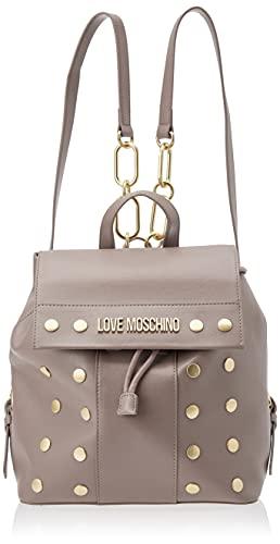 Love Moschino, Borsa a Spalla da Donna, Pre Collezione Autunno Inverno 2021, Grigio, U