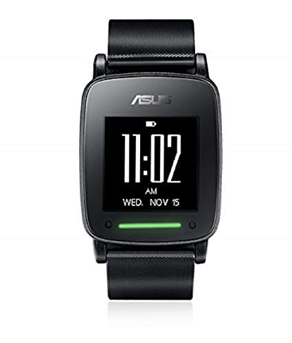 Reloj inteligente Asus VivoWatch S, reloj de fitness, pulsómetro, duración de la batería hasta 10 días, negro/antracita, Bluetooth, función GPS.